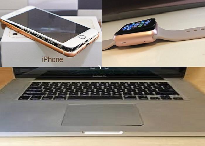 iPhone, Apple watch, mac