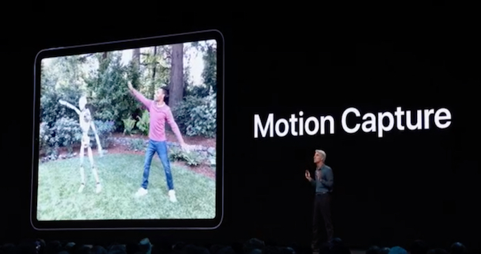 motion capture ios 13