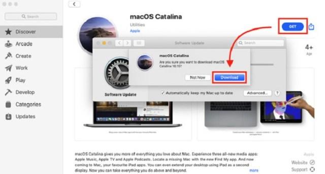 Descargar MacOS Catalina