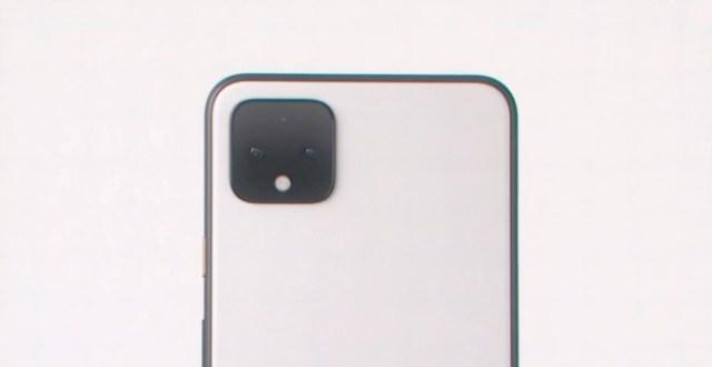 Camara doble del Pixel 4