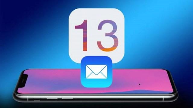 Correo en iOS 13