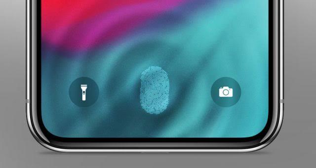 Touch ID debajo de la pantalla