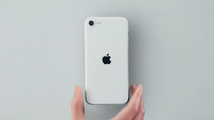 iPhone SE 2020 en blanco