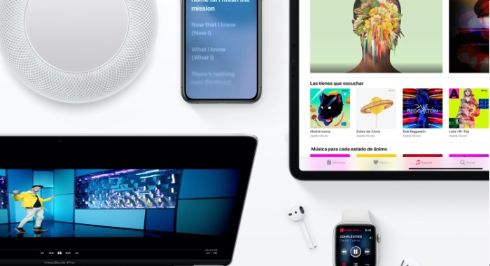 Apple music gana 36% de suscriptores 2019