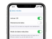 Datos reducidos iOS