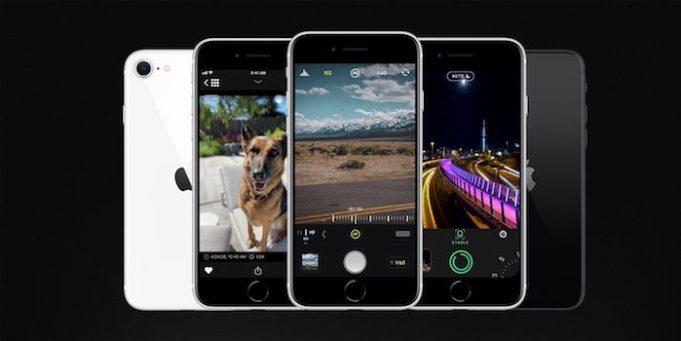 Halide Camera para iPhone SE