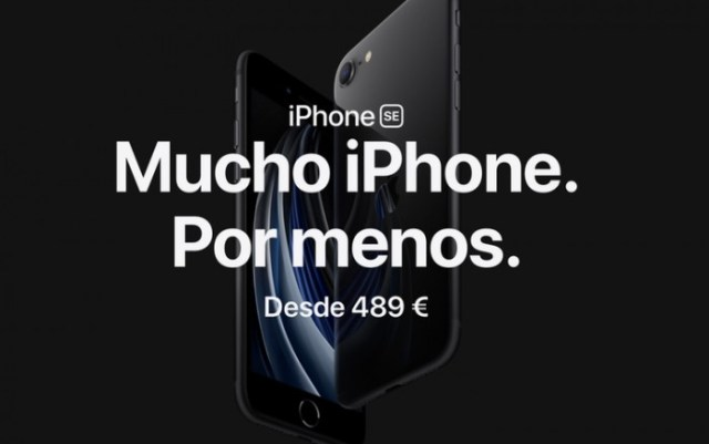 iPhone SE Página oficial