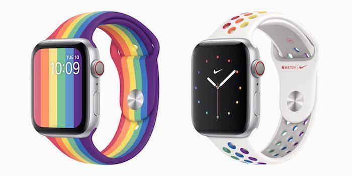 Apple Watch correas edición orgullo 2020