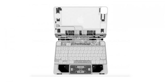 Radiografía del Magic Keyboard