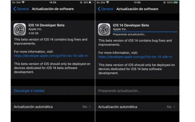 Descarga lista iOS 14