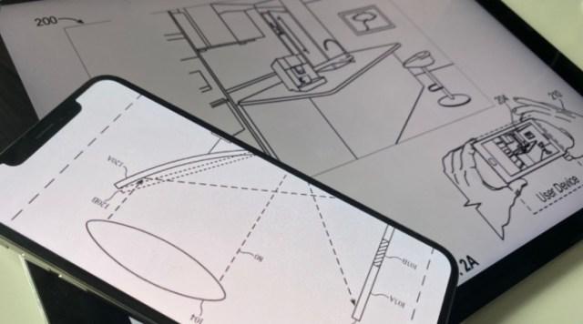 Dibujos de la patente de Apple