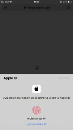 Iniciar sesión con Apple ID