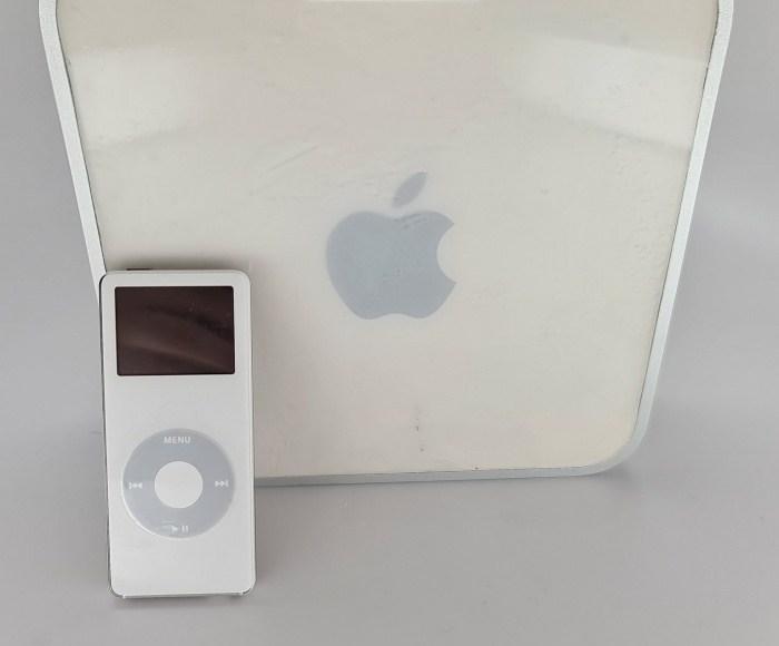 Mac Mini y iPod nano