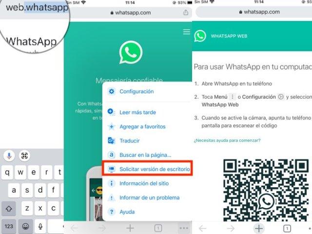 Iniciar segunda sesión de WhatsApp iPhone