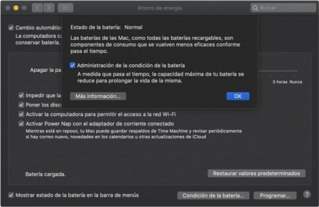 Preferencias del sistema macOS Catalina