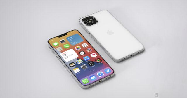 Supuesto chasis iPhone 12 Pro