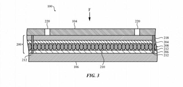 Patente de teclado virtual