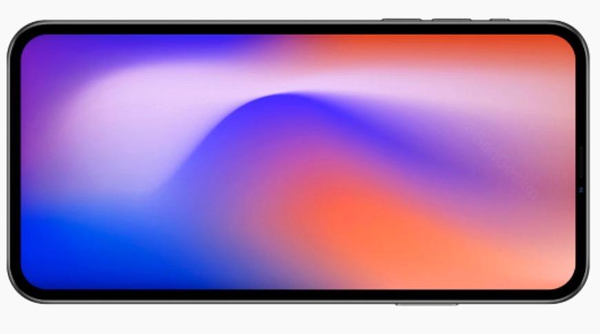 Sensores detrás de la pantalla
