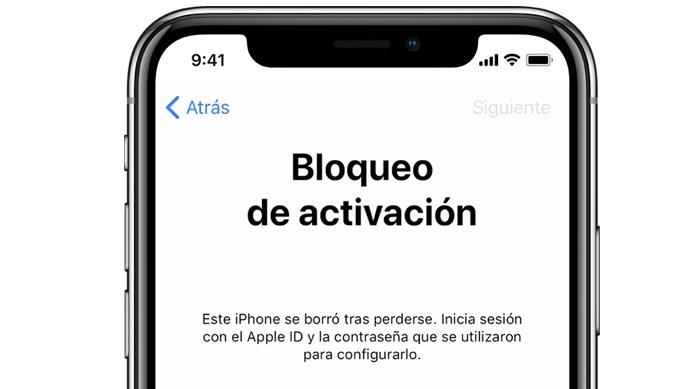 desbloquear un iPhone activación