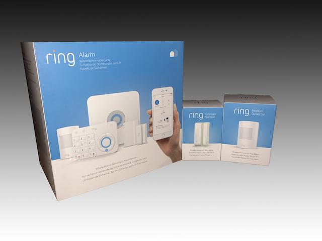 Caja del sistema de seguridad Ring Alarm