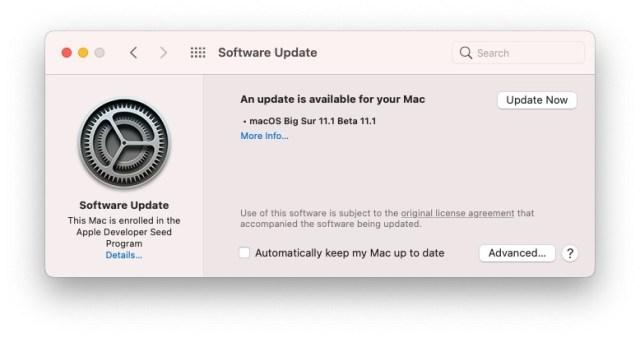 versión beta 11.1