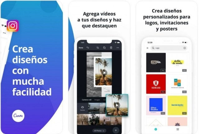 aplicaciones iOS Canva