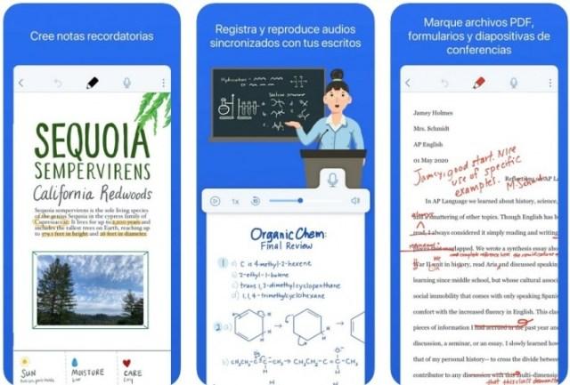 aplicaciones iOS Notability