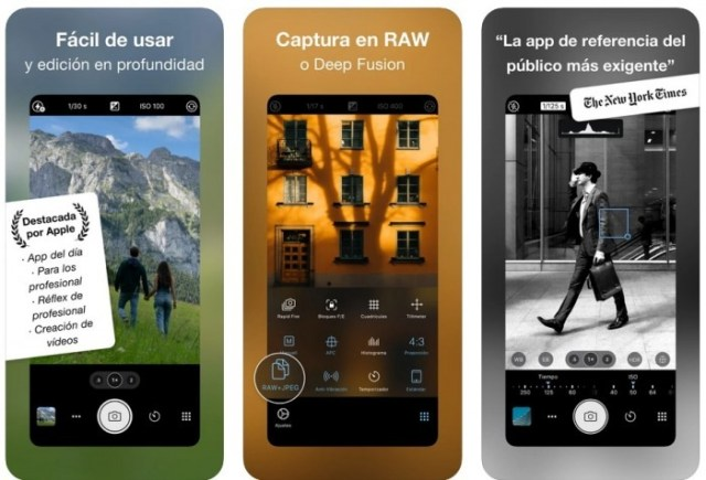 aplicaciones iOS ProCamera