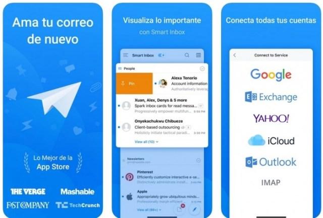 aplicaciones iOS Spark