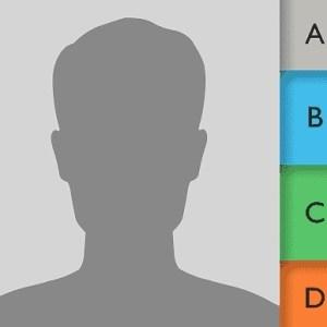 Icono de contactos iOS