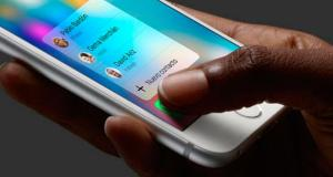Nuevo contacto 3D Touch
