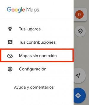 Opcion mapas sin conexion