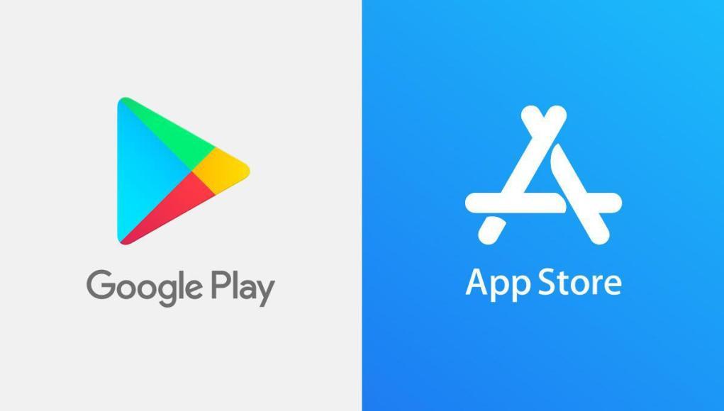 tiendas de apps, App Store y Google Play Store