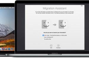 Transferir información al Mac desde otro ordenador o dispositivo