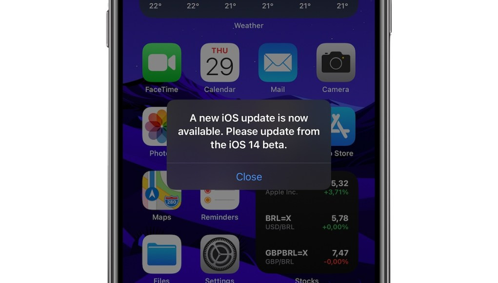 iOS Beta