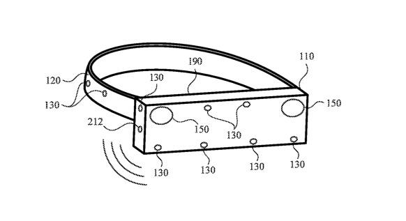 Los micrófonos 'Apple Glass' pueden localizar sonidos y dirigir a los usuarios a la fuente