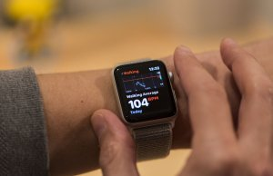 Apple Watch frecuencia cardiaca