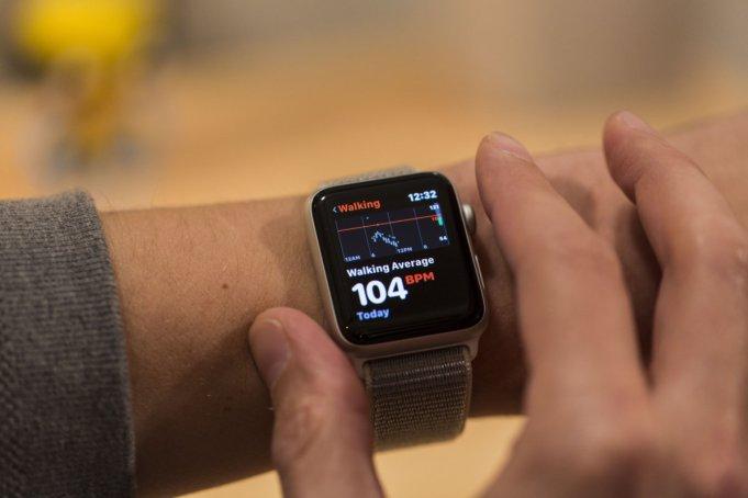 Apple Watch frecuencia cardiaca