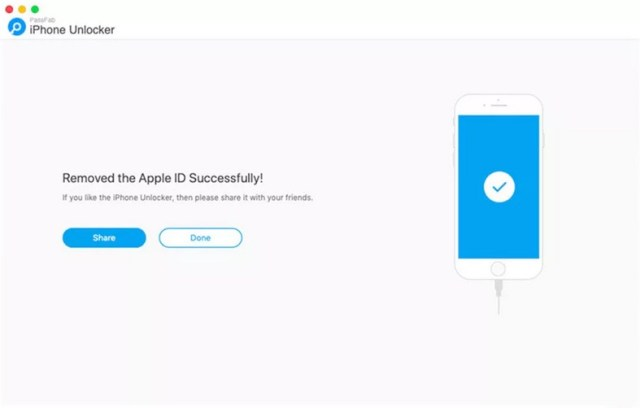 Eliminado Apple ID