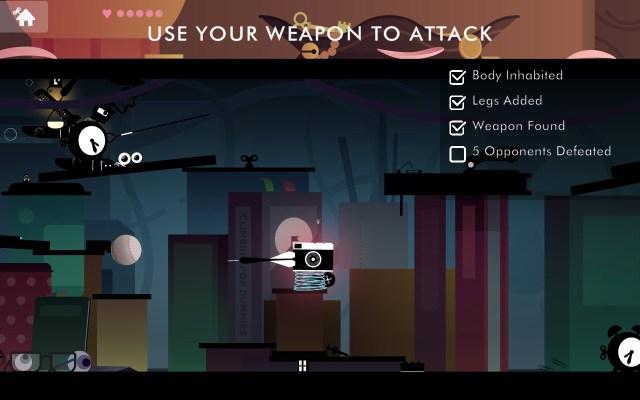 Escoge un arma para atacar