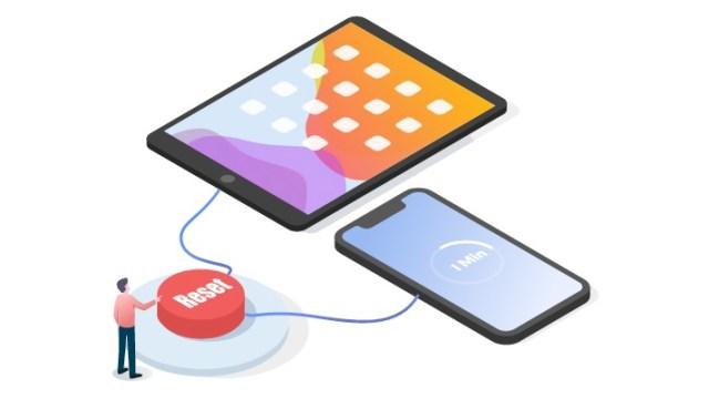 Solucionar problemas de tu dispositivo iOS reset