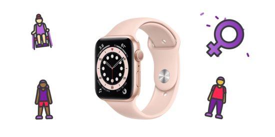 Nuevo premio para el Apple Watch celebrando el día Internacional de la Mujer 2021