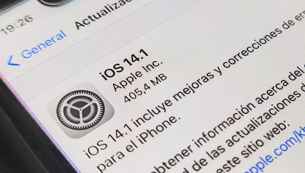 Actualizaciones iOS