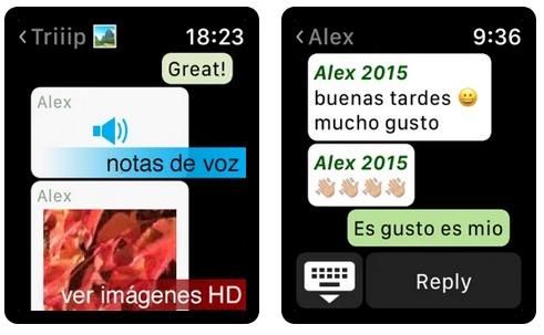 Enviar y recibir mensajes de WhatsApp