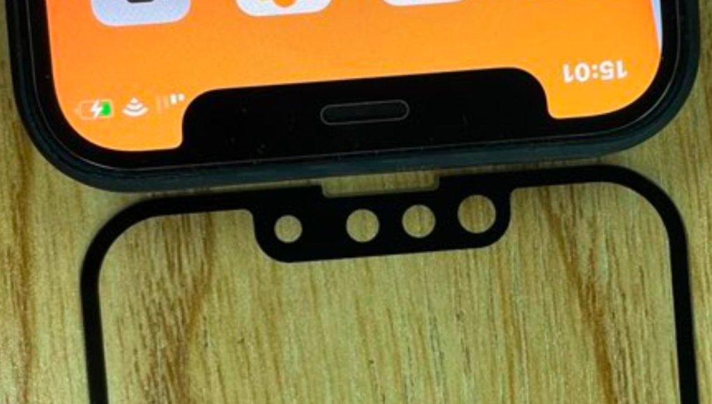 El notch más pequeño del iPhone 13 vuelve a aparecer