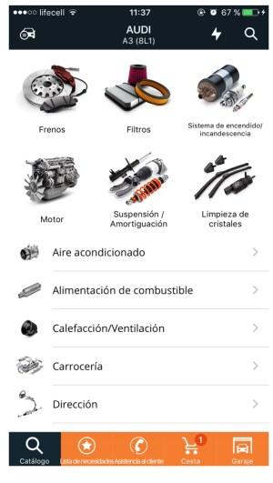AUTODOC para iOS-1