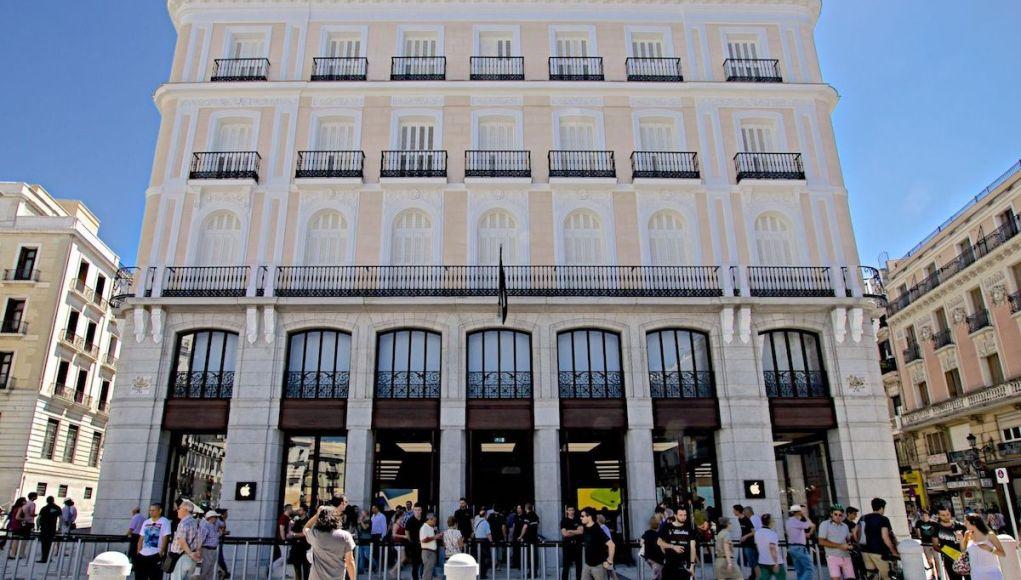 Apple España puerta del sol