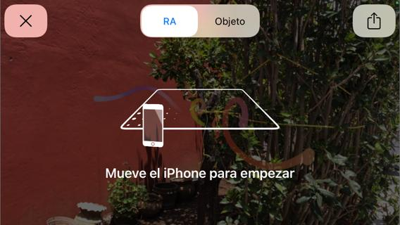 Mover iPhone RA