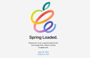 Spring Loaded Apple Event