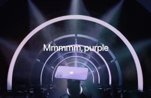 iPhone 12 color violeta